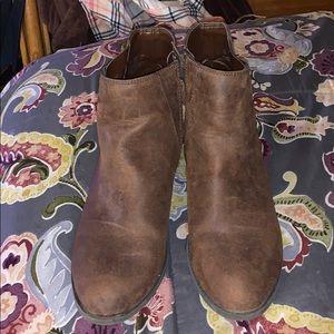 Sz 9 booties by Caleb